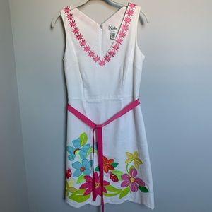 Lily Pulitzer dress.